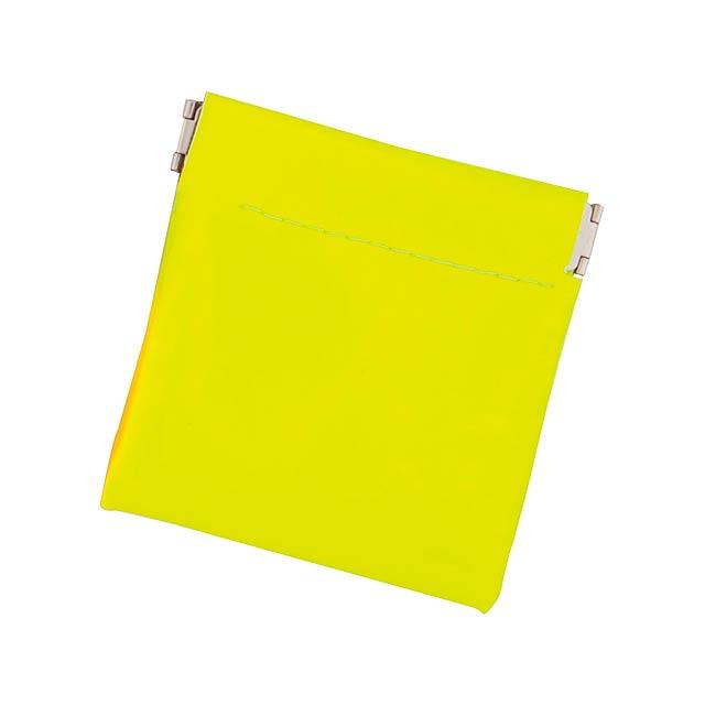 Clexy peněženka - žlutá