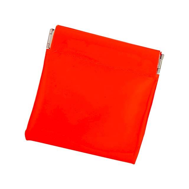 Clexy peněženka - oranžová