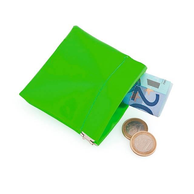 Clexy peněženka - zelená