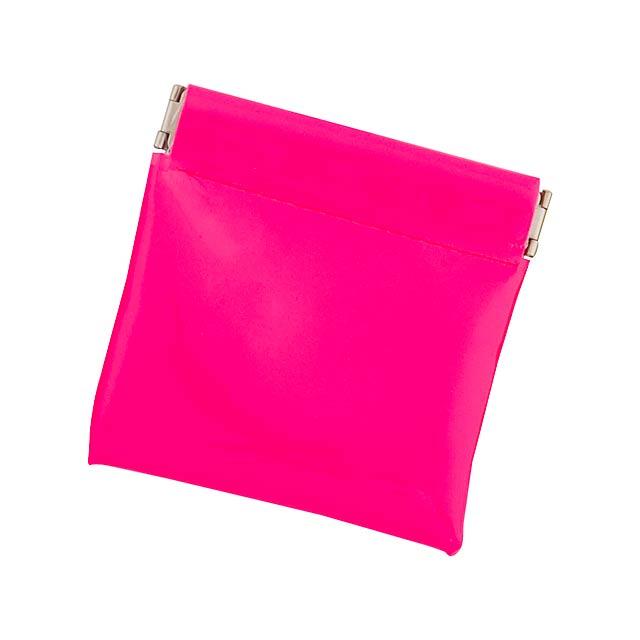 Clexy peněženka - fuchsiová (tm. růžová)