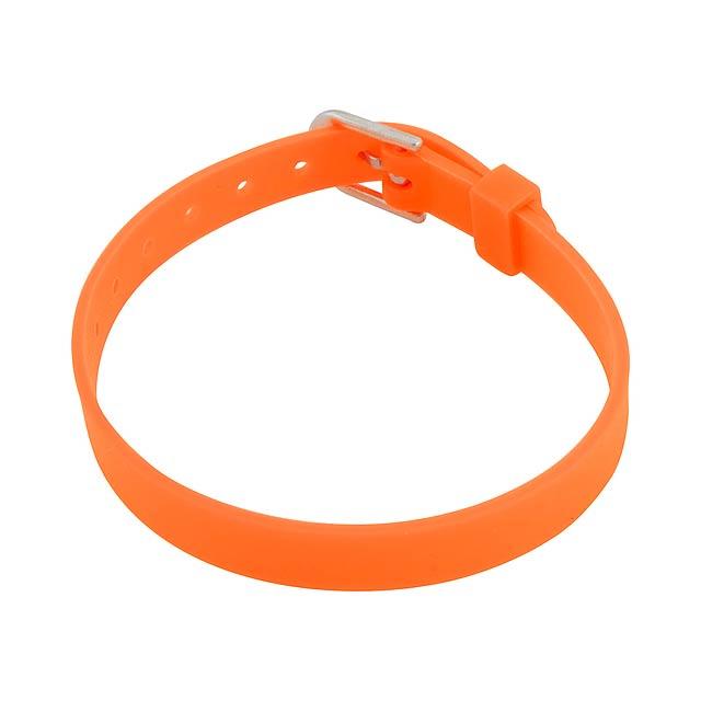 Tonis náramek - oranžová