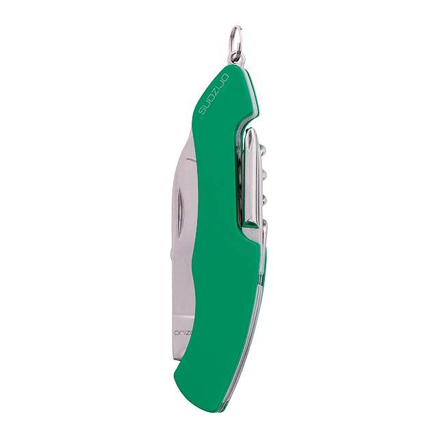 Klent multifunkční kapesní nůž - zelená