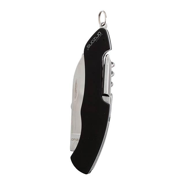 Klent multifunkční kapesní nůž - černá