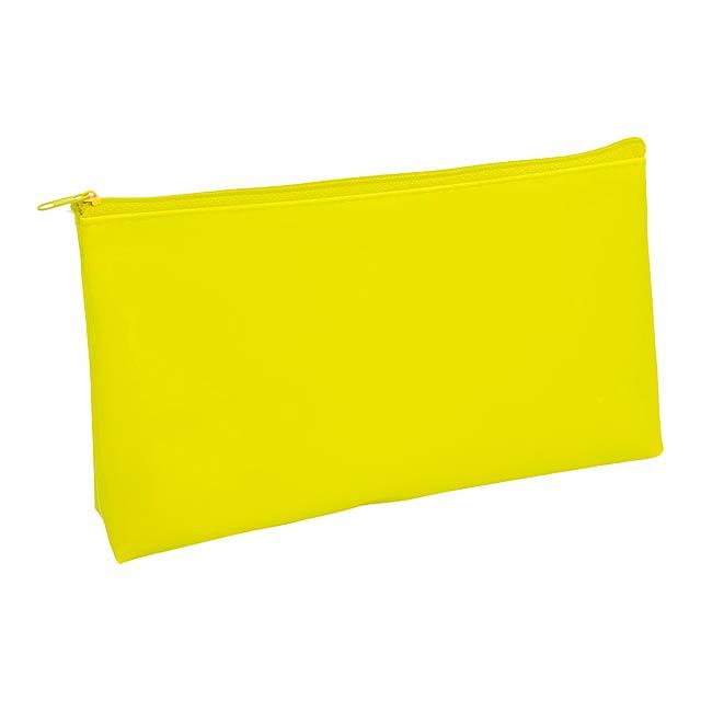 Valax kosmetická taška - žlutá