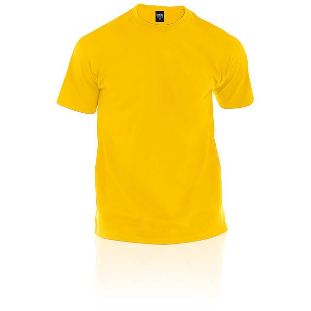 Premium tričko - žlutá
