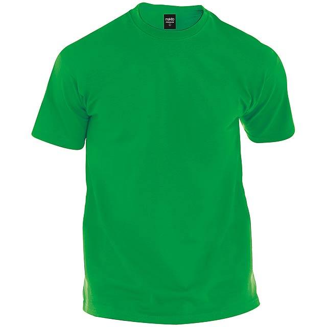 Tričko s kulatým výstříhem ze 100% bavlny, 150g/m². - zelená - foto