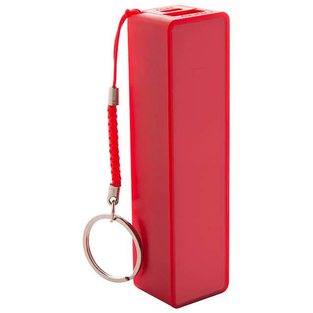 Kanlep USB power banka - červená