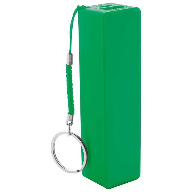 Kanlep USB power banka - zelená