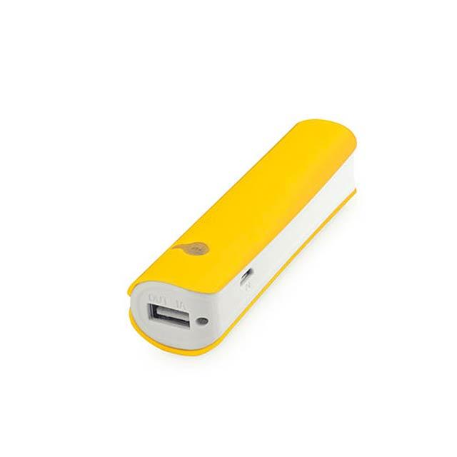 Hicer USB power bank - žlutá