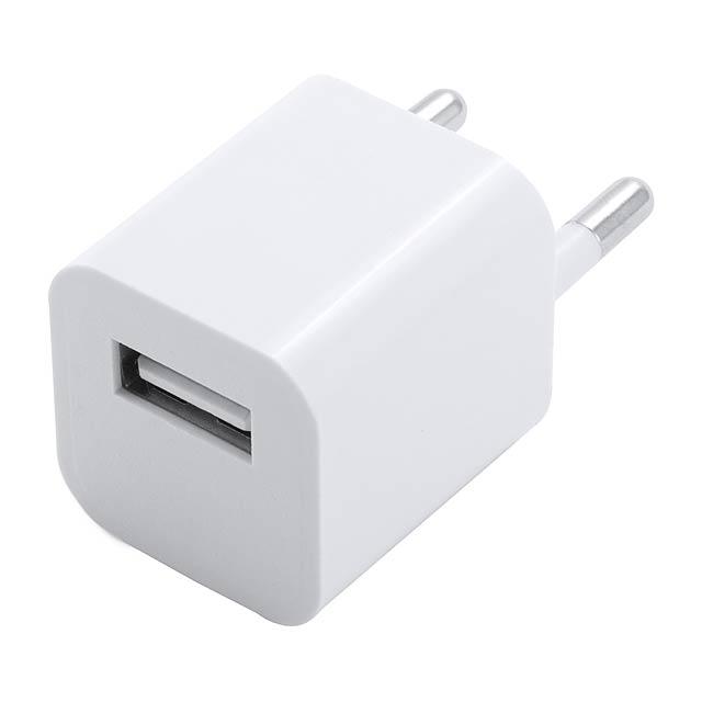 Radnar USB nabíječka - bílá