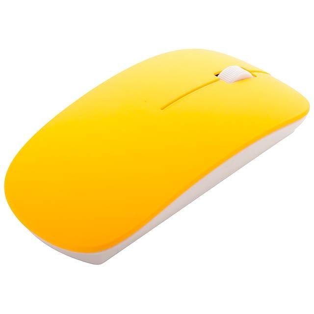 Lyster optická myš - žlutá