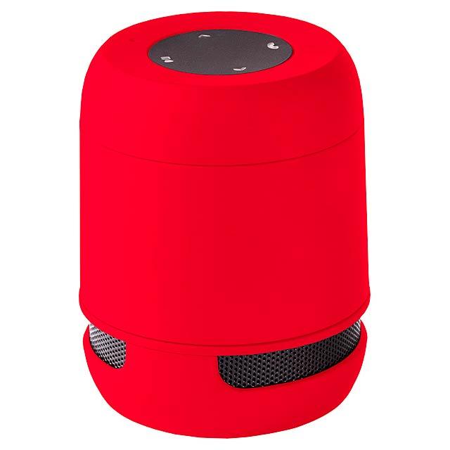 Braiss bluetooth reproduktor - červená