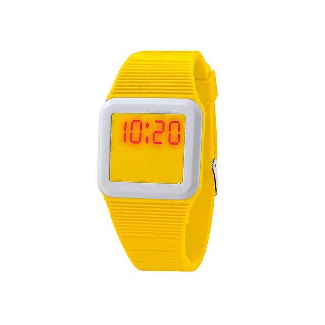 Terax hodinky - žlutá