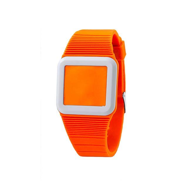 Terax hodinky - oranžová