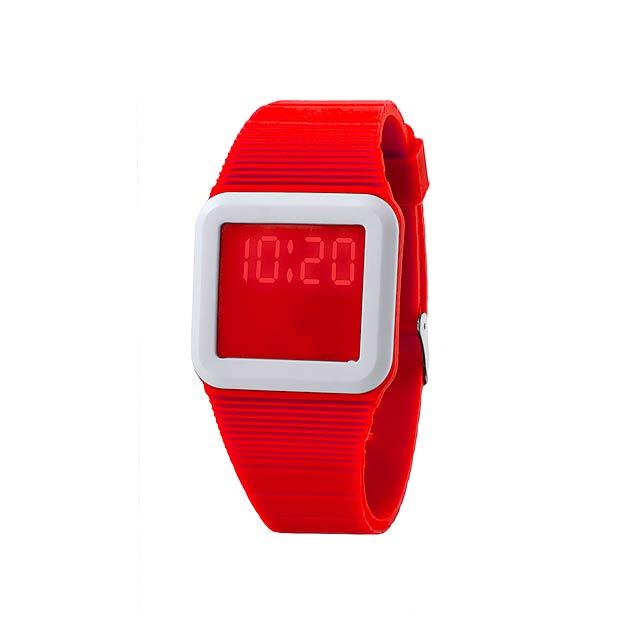 Terax hodinky - červená