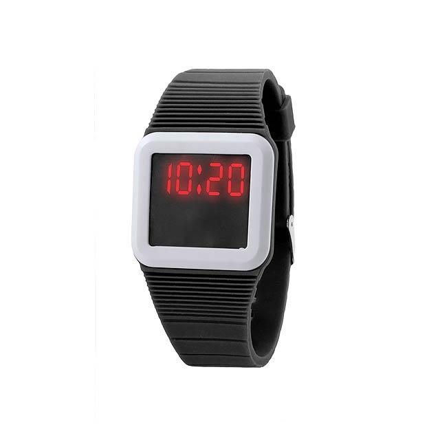 Terax hodinky - černá