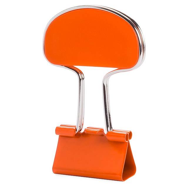 Yonsy klip na poznámky - oranžová