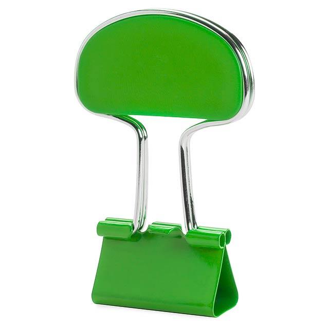 Yonsy klip na poznámky - zelená