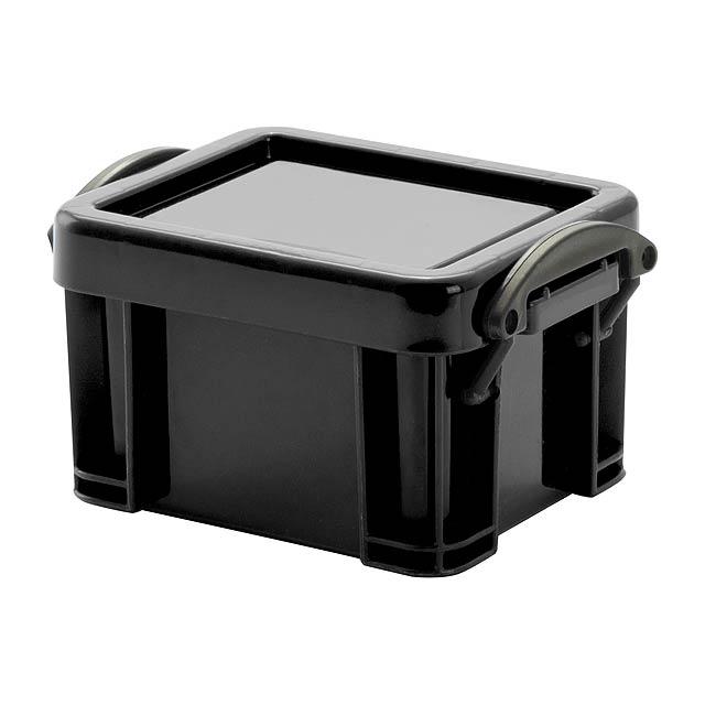 Harcal víceúčelový box - černá