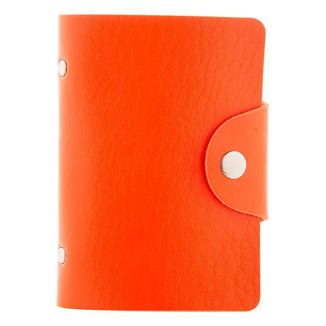 Midel obal na karty - oranžová