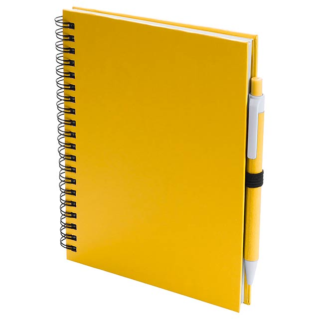 Koguel poznámkový blok - žlutá