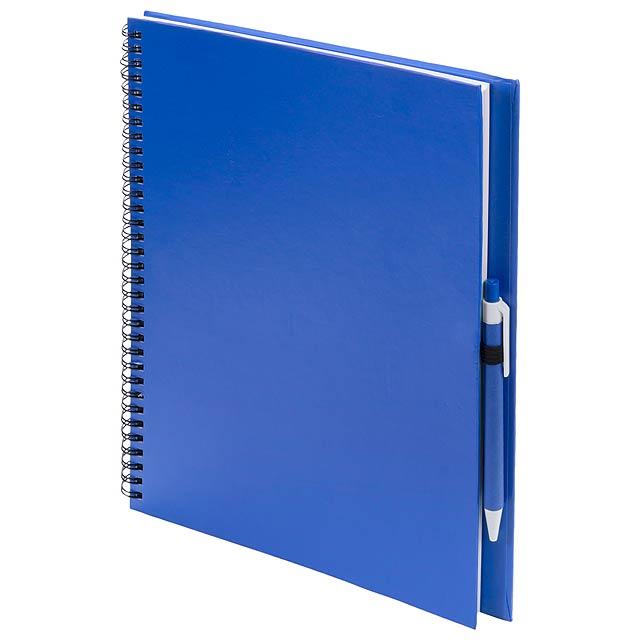 Tecnar poznámkový blok - modrá