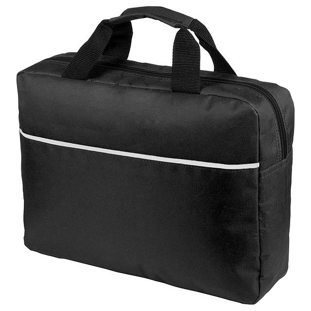 Hirkop taška na dokumenty - černá
