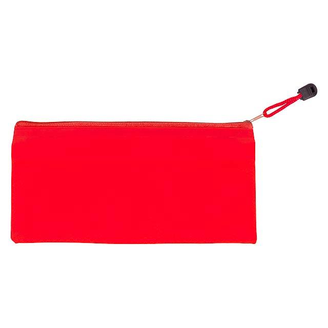 Latber sametový návlek na pero - červená