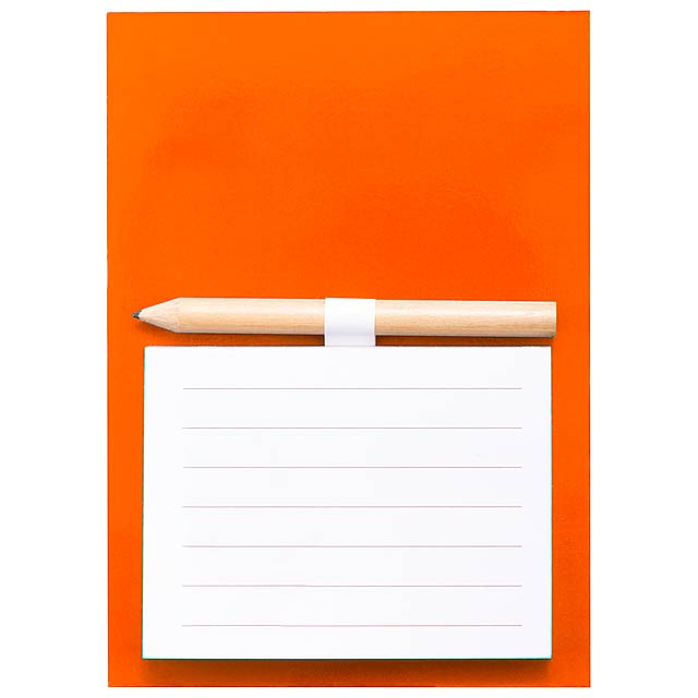 Yakari - Magnetischer Notizblock - Orange