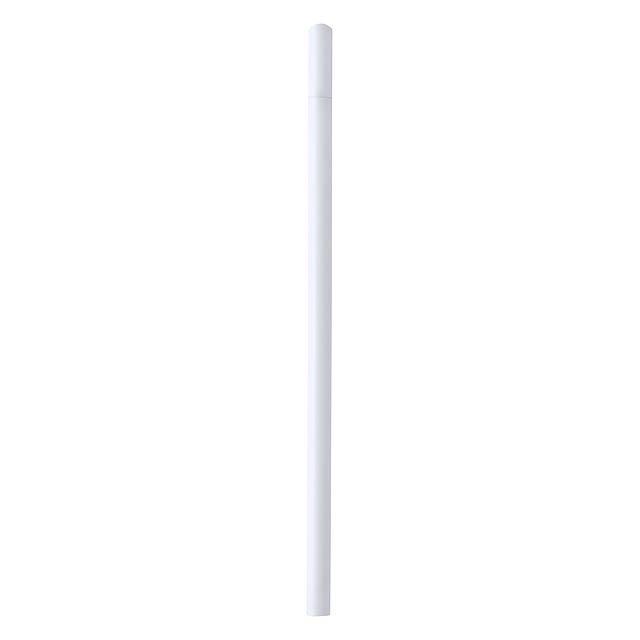 Koby tužka z recyklovaného papíru - biela
