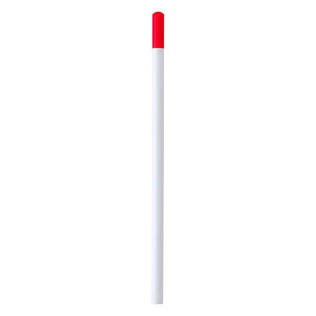 Koby tužka z recyklovaného papíru - červená