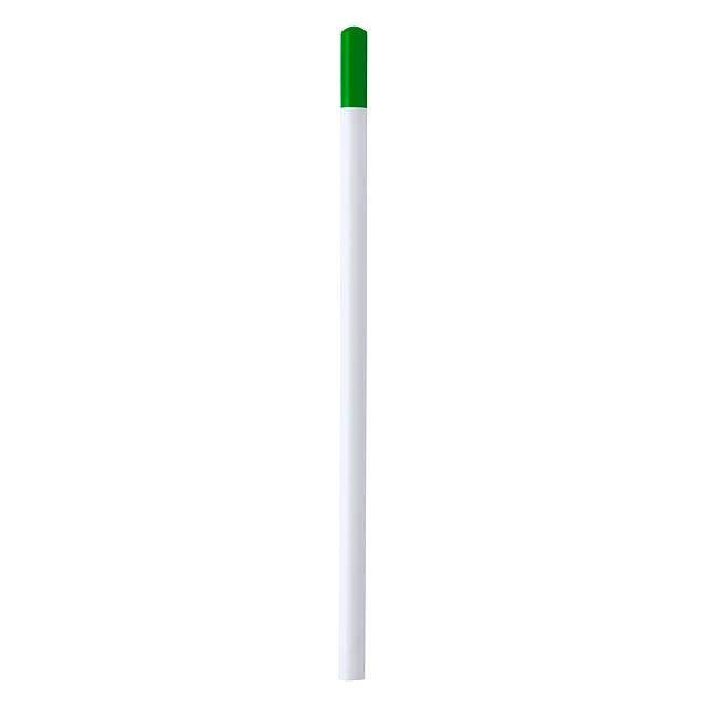 Koby tužka z recyklovaného papíru - zelená