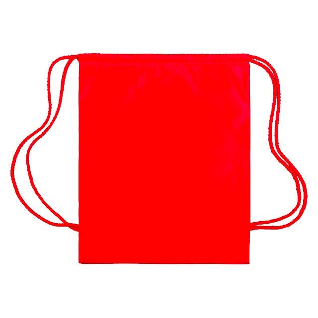 Sibert vak se stahováním na šňůrku - červená