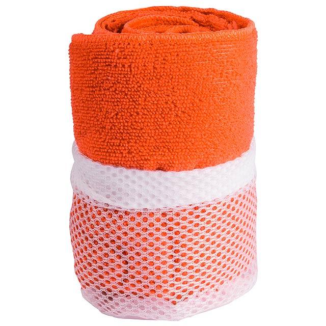 Gymnasio ručník - oranžová