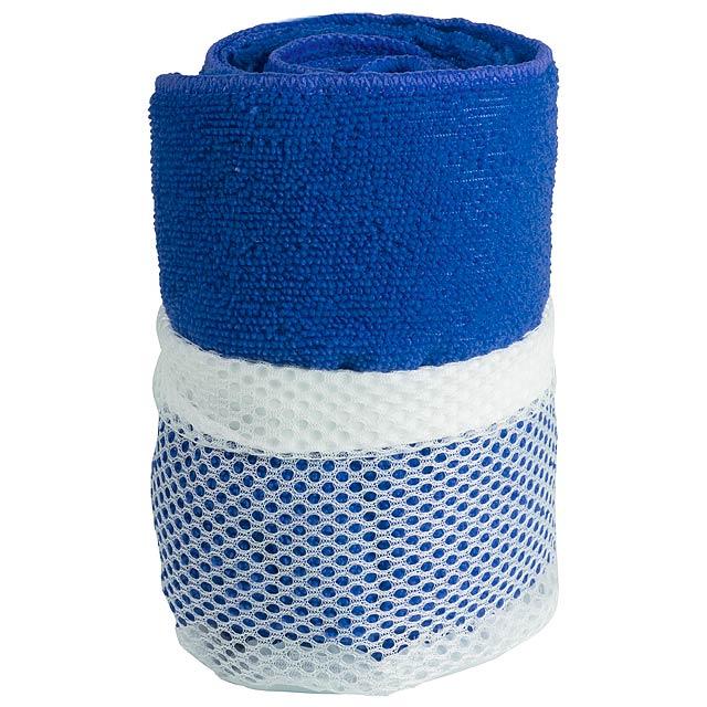 Gymnasio ručník - modrá