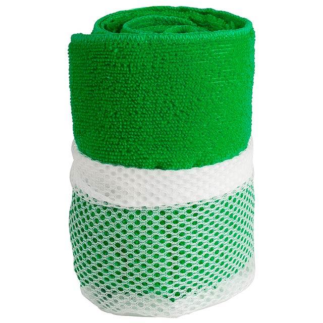 Gymnasio ručník - zelená
