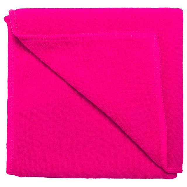 Kotto ručník - fuchsiová (tm. růžová)