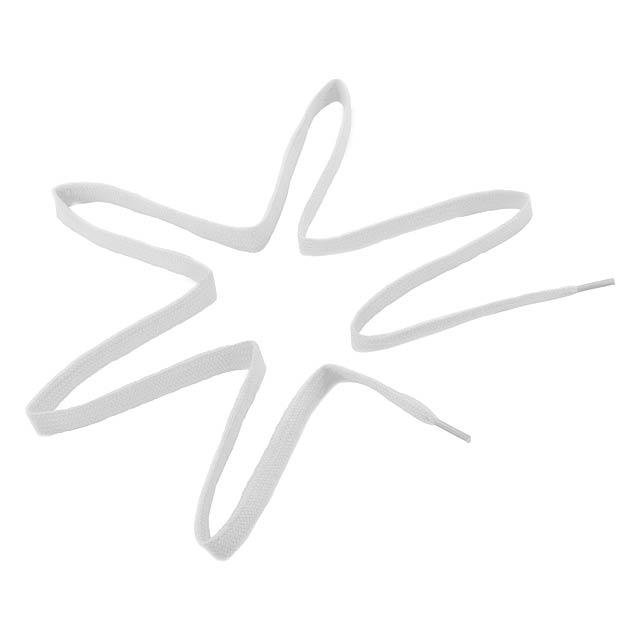 Woltex tkaničky - bílá