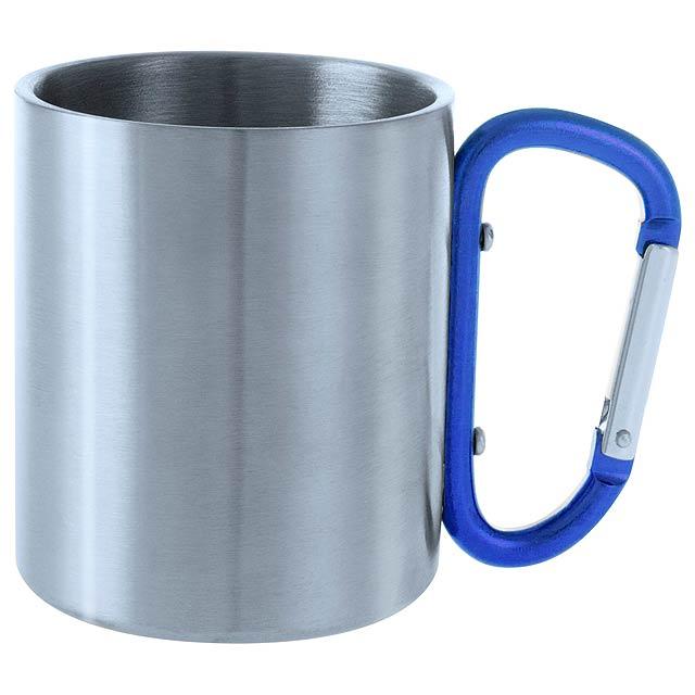 Bastic kovový hrnek - modrá