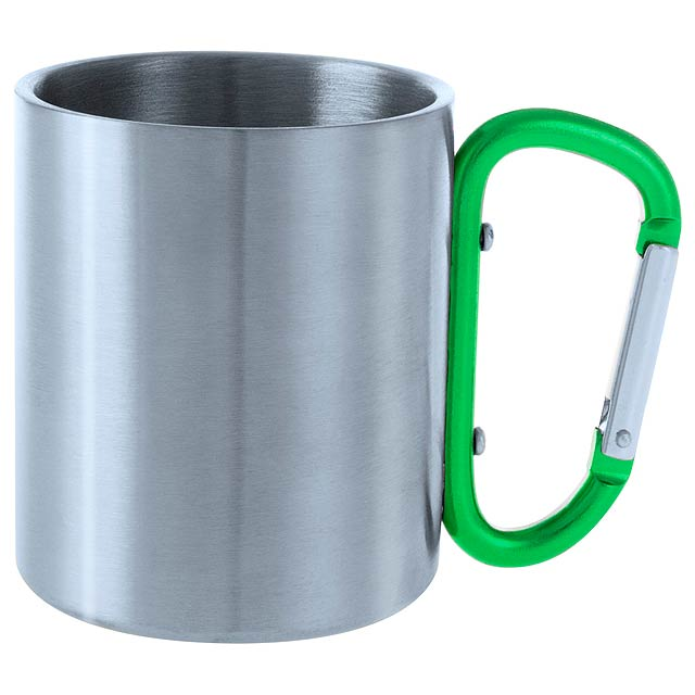 Bastic kovový hrnek - zelená