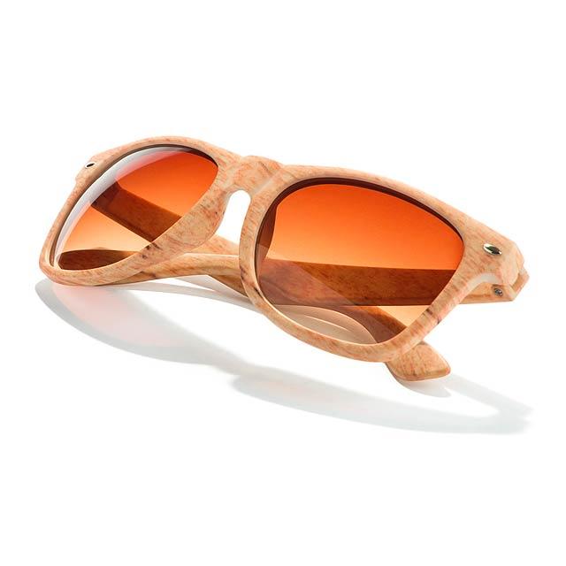 Haris sluneční brýle, uv 400 - zlatá