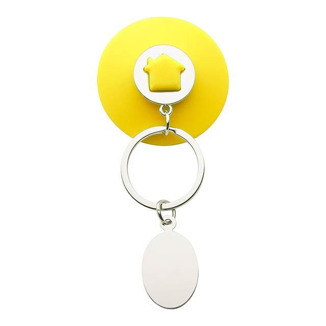 Halman přívěšek na klíče - žlutá