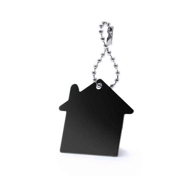 Noax přívěšek na klíče - černá