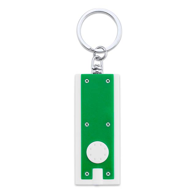 Shika přívěšek - svítilna - zelená