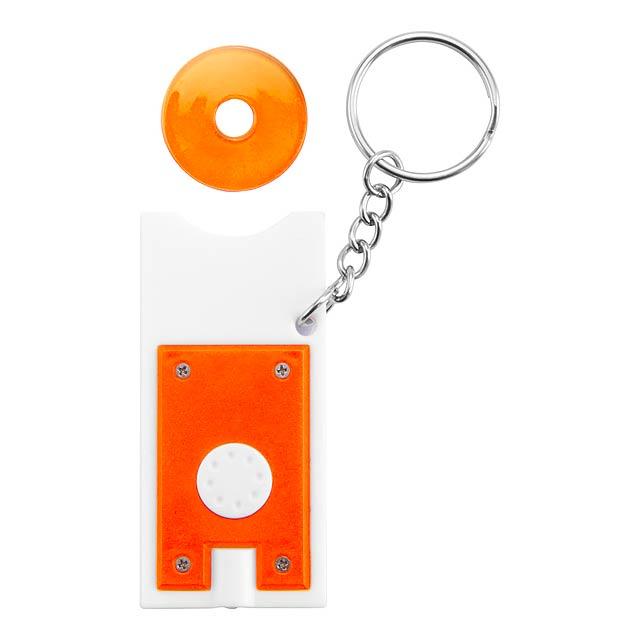 Lottax přívěšek - svítilna - oranžová