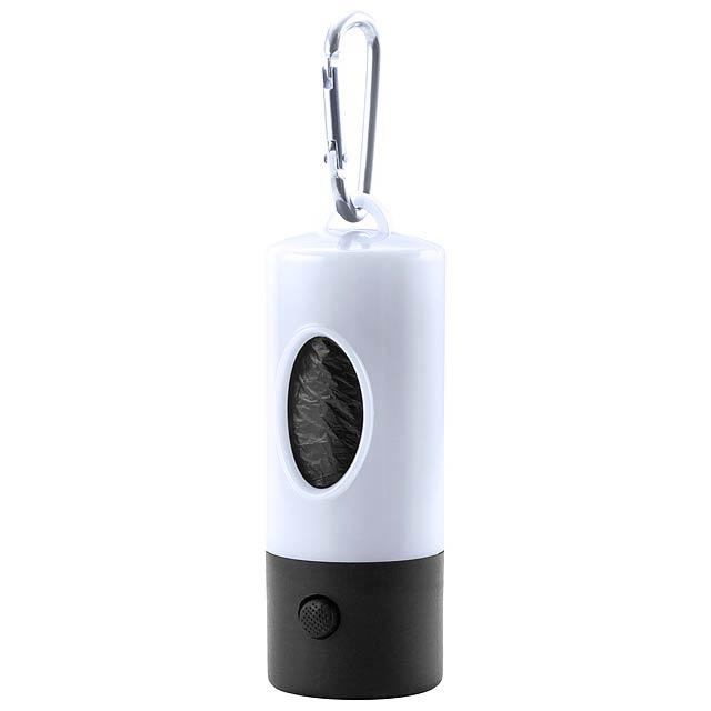Dog Waste Bag Dispenser - white