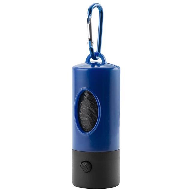Dog Waste Bag Dispenser - blue