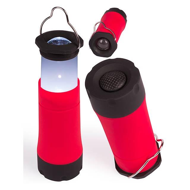 Fillex svítilna - červená