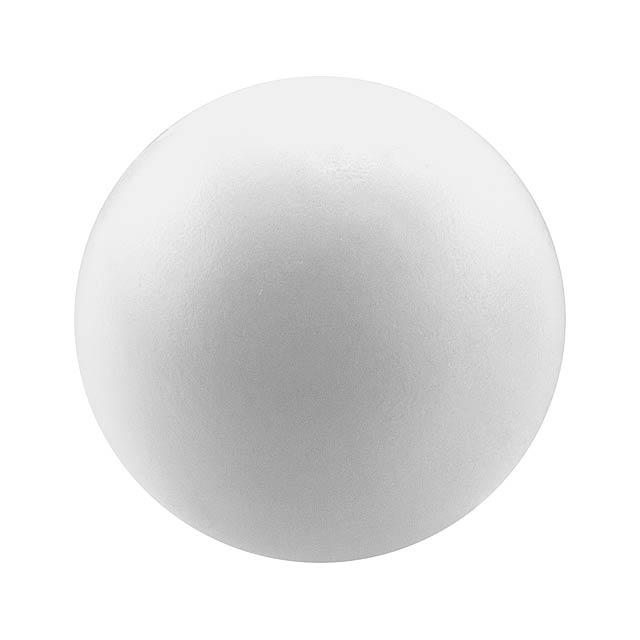 Lasap antistresový míček - bílá