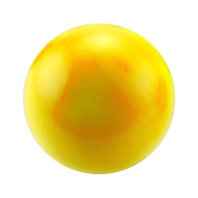 Lasap antistresový míček - žlutá